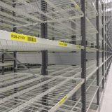 EAB hyllplan med nät och galler